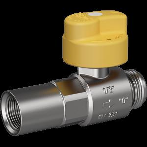 """Safety gas valve MERABELL VAIT Rp1/2""""-G1/2"""" - straight"""