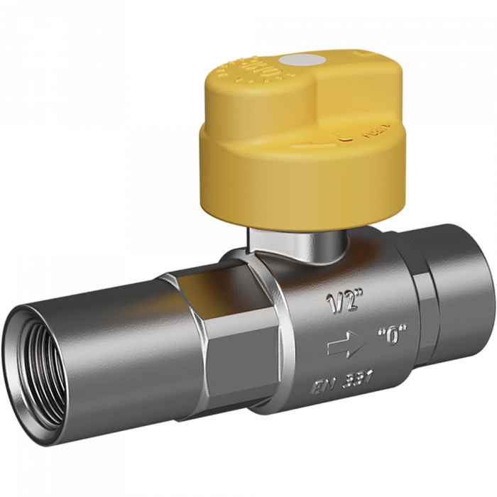 "Safety gas valve MERABELL VAIT Rp1/2""-Rp1/2"" - straight"