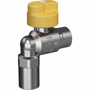 """Safety gas valve MERABELL VAIT Rp1/2""""-Rp1/2"""" - angle"""