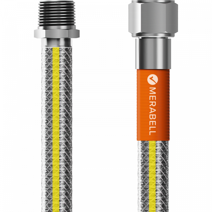 "Merabell Gas hose, Profi, R1/2""–Rp1/2"""