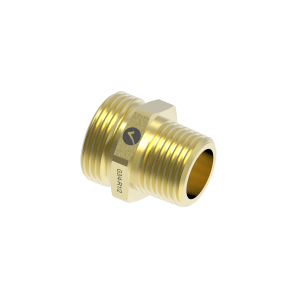 """Reduced transition nipple Merabell G3/4"""" - R1/2"""" for pipe DN15"""