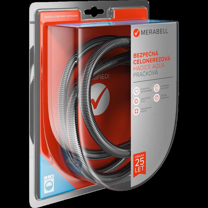 "Merabell Aqua hose, washing machines, G3/4""–G3/4"""